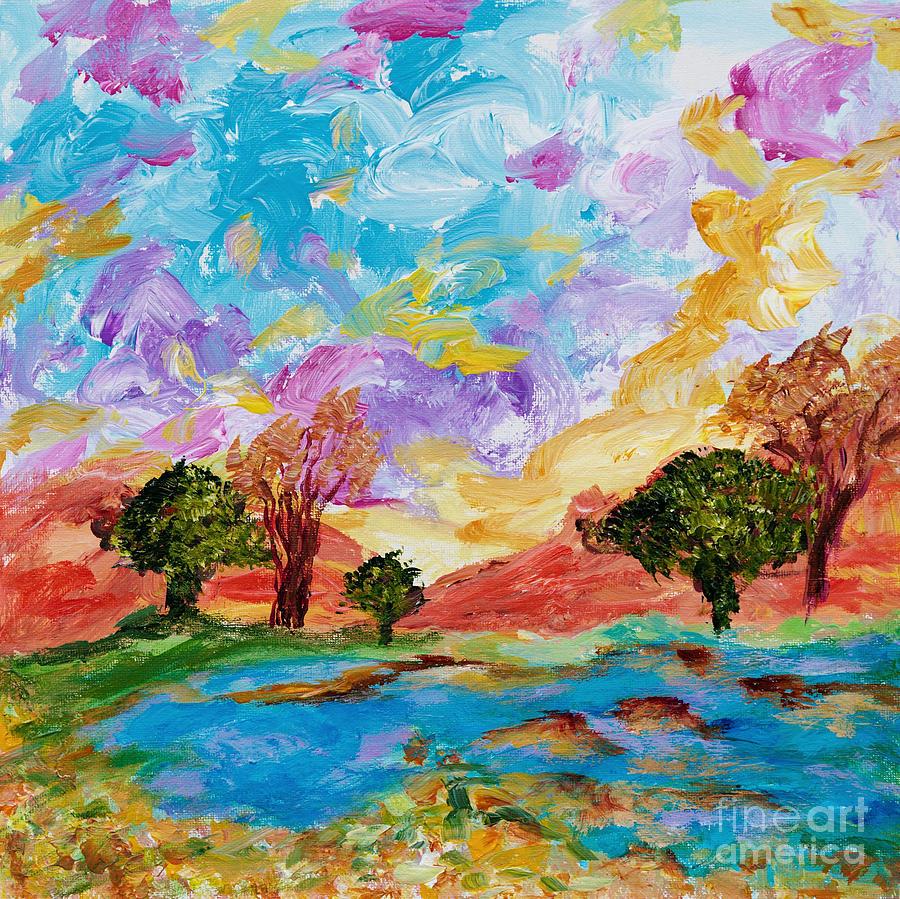Summer landscape by Art by Danielle