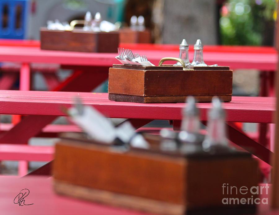 Summer Lunch by Ann E Robson