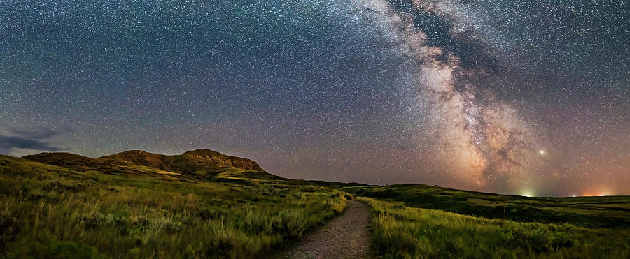 Summer Milky Way At Eagle Butte by Alan Dyer