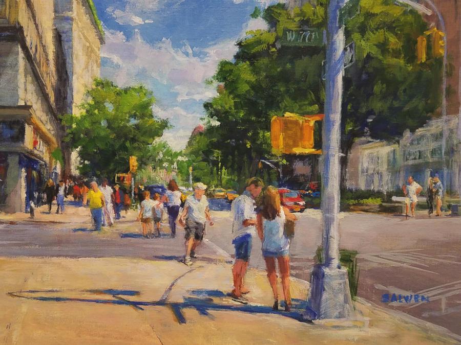 Summer Morning on Upper Broadway No. 2 by Peter Salwen
