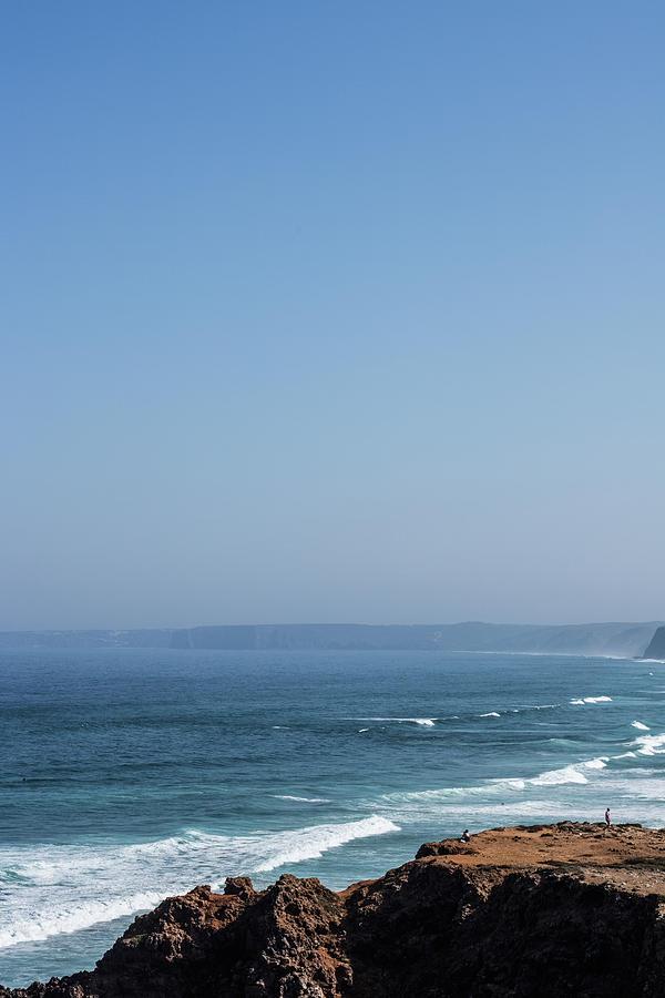 Summer Ocean View by Anne Leven