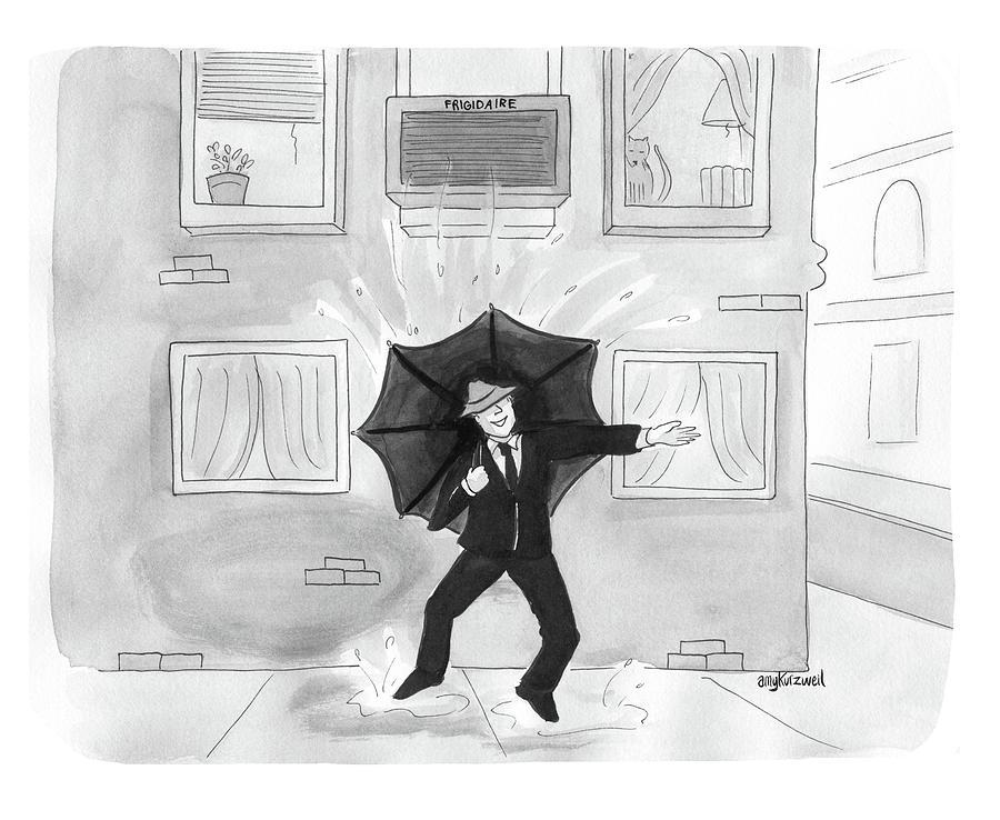 Summer Rain Drawing by Amy Kurzweil