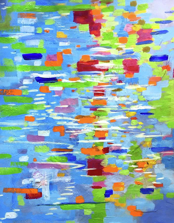 Summer Reflection by Nancy Merkle
