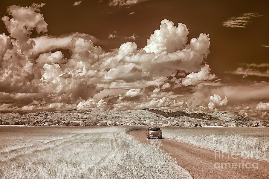 Summer Sky In Infrared Photograph
