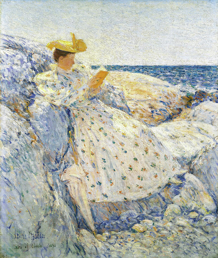 Frederick Childe Hassam Painting - Summer Sunlight, Isles Of Shoals - Digital Remastered Edition by Frederick Childe Hassam