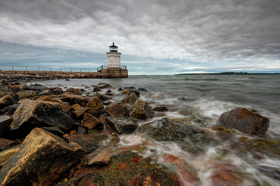 Summer Tides at Bug Light by Jesse MacDonald