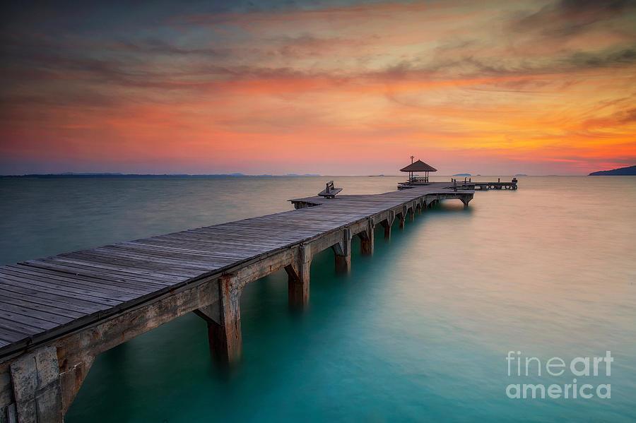 Sailboat Photograph - Summer, Travel, Vacation And Holiday by Anek.soowannaphoom