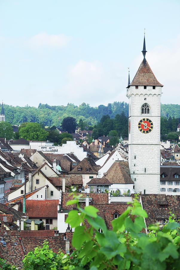 Summer View Of Schaffhausen Photograph by Oks mit