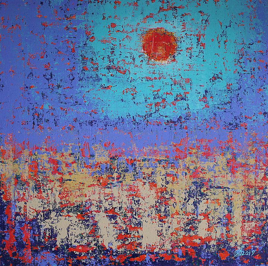 Summertide original painting by Sol Luckman