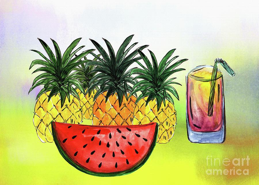 Summertime Fruit by Kaye Menner by Kaye Menner
