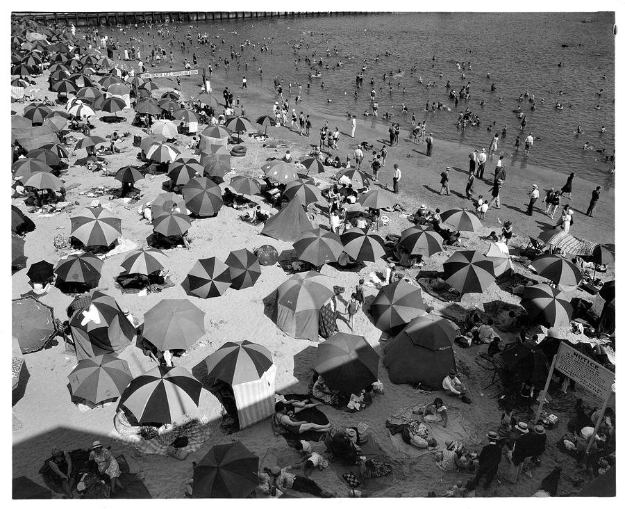 Summertime In Long Beach, California Photograph by American Stock Archive