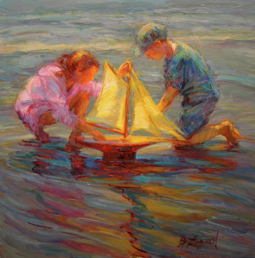 Summertime Sails Painting