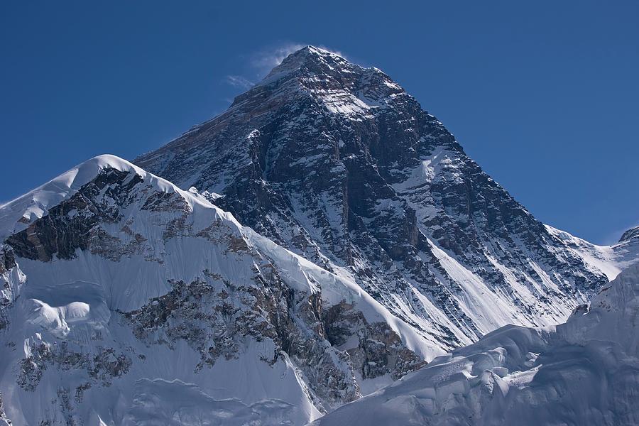 Summit Of Mt Everest8850m Great Details Photograph by Diamirstudio