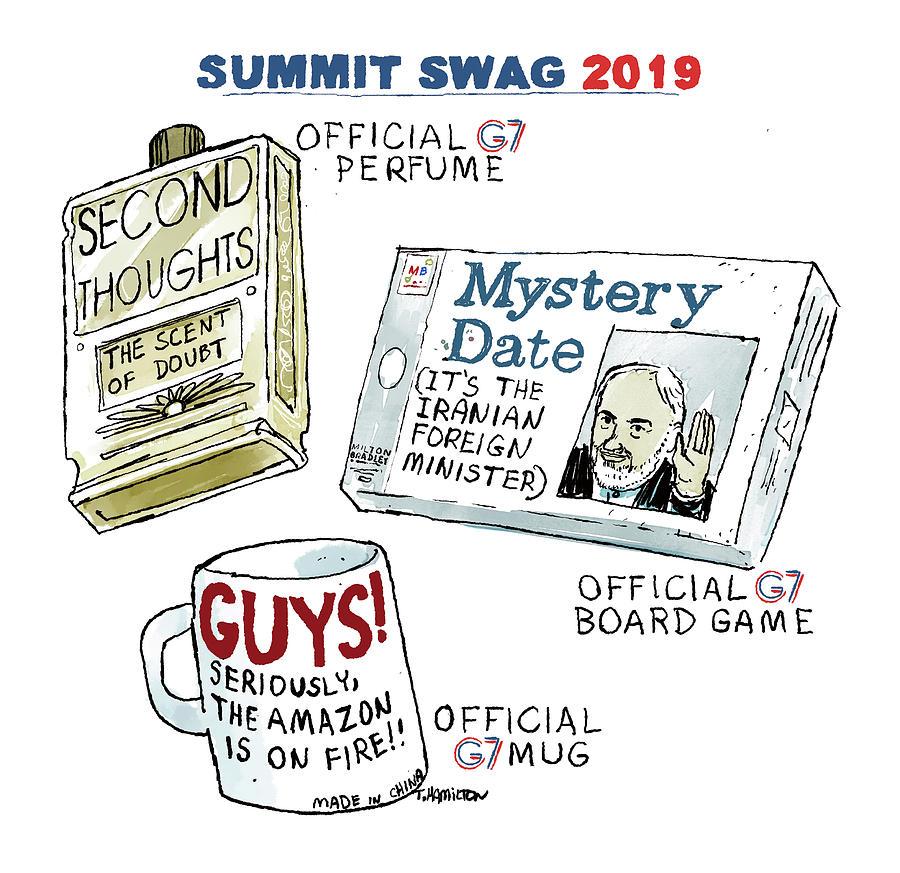 Summit Swag 2019 Drawing by Tim Hamilton