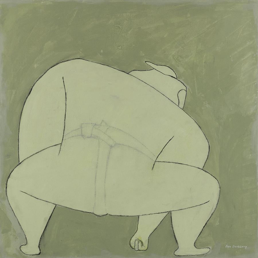 Sumo Wrestler by Ben Gertsberg