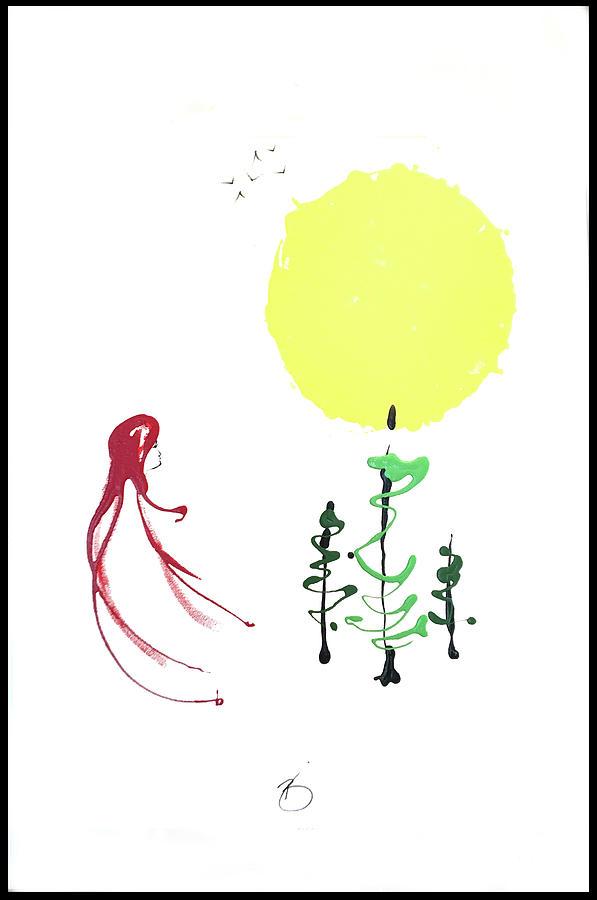 Sun Painting - Sun Love by Richard Buckley