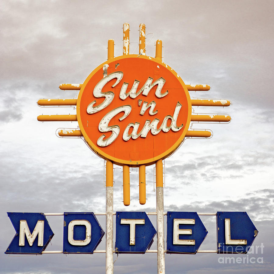 Sun 'n Sand Motel  by Imagery by Charly