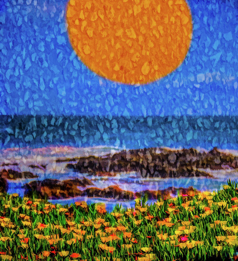 Sun, Rain And Surf Photograph