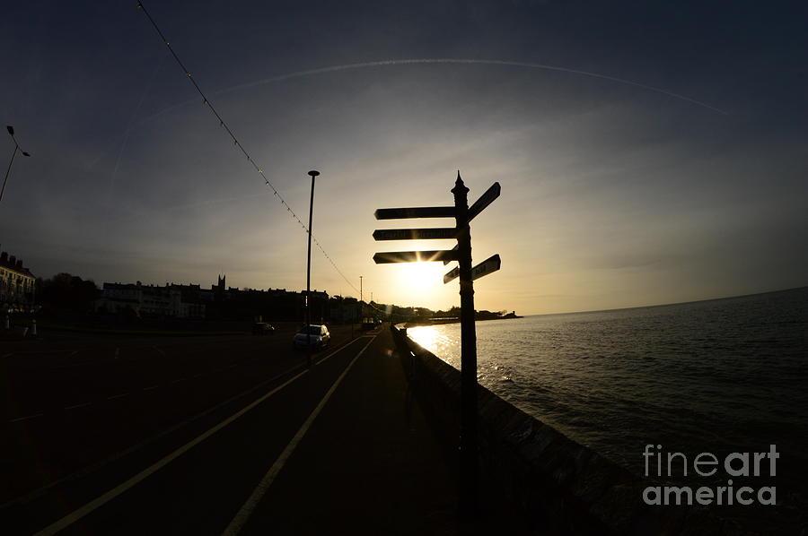Sun Photograph - Sun Rise Sign by Andy Thompson