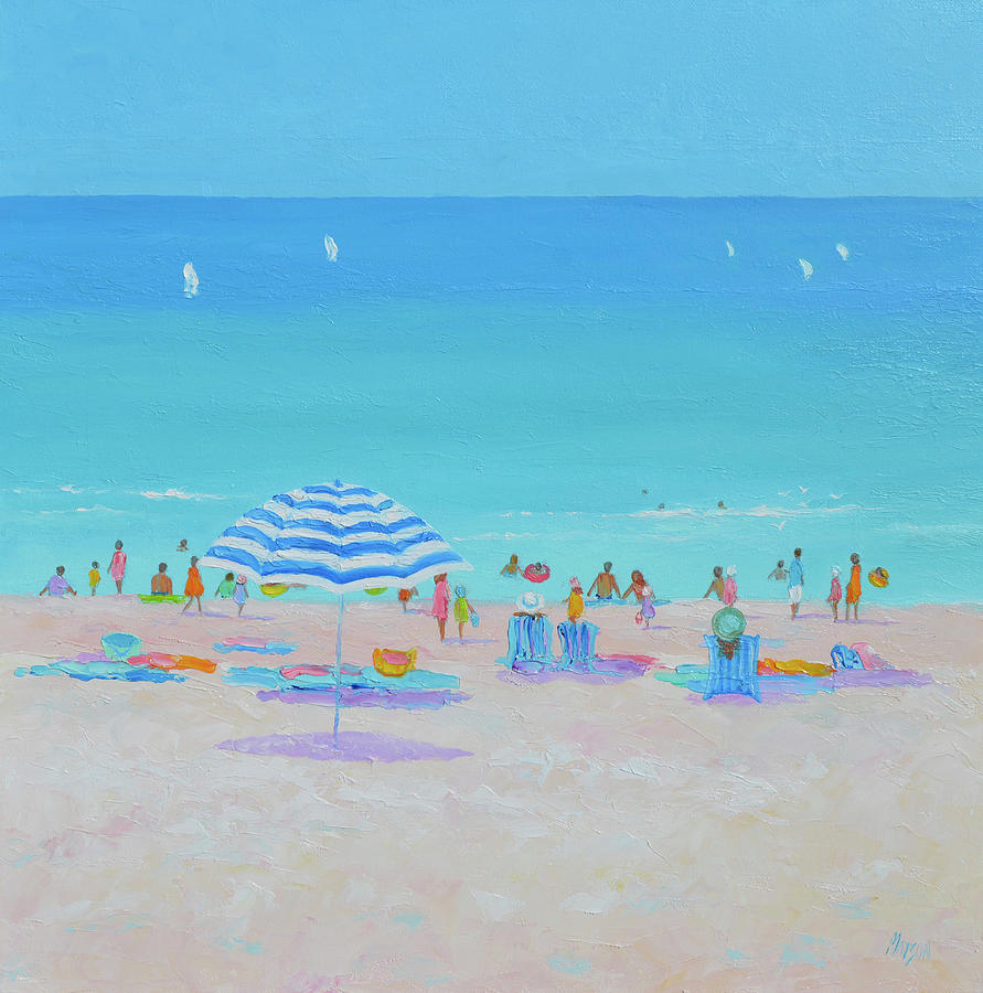 Sun, Sand, Surf And Summer Breezes Painting