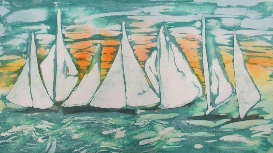 Sun Set Sailors by Jennifer Raby