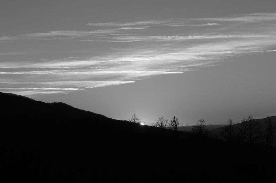 Sun Sets behind the Ridge by Dimitris Sivyllis