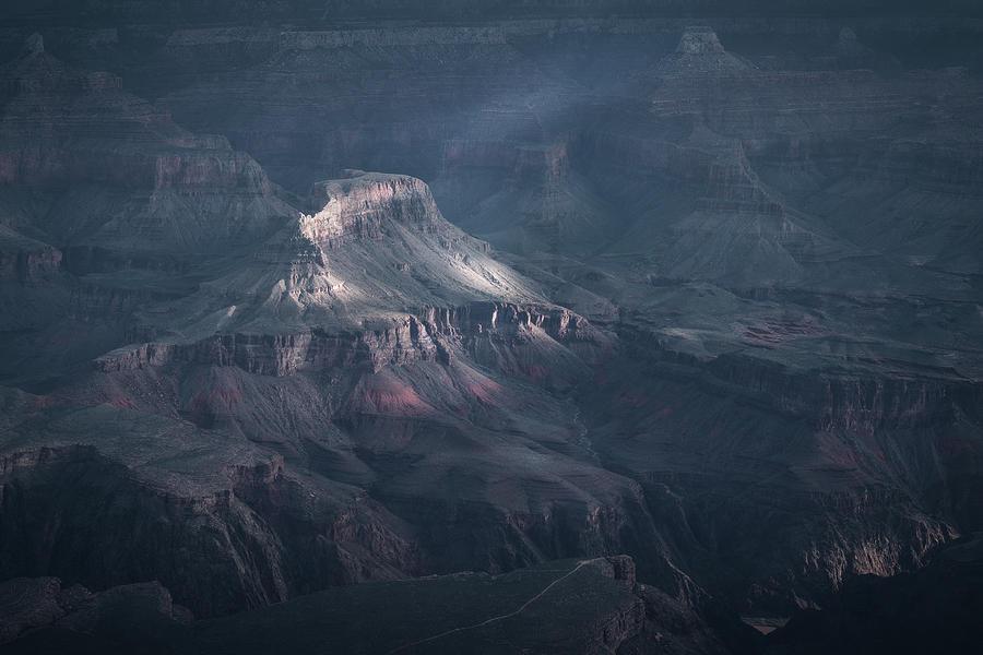 Sunbeamed, Grand Canyon, AZ by Dalibor Hanzal