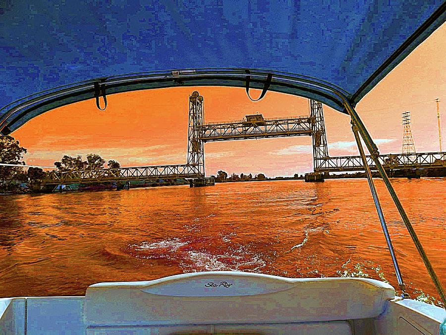 SunDancer Cruising The Delta by Joseph Coulombe
