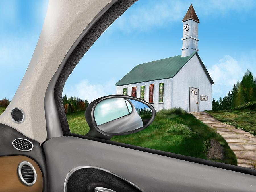 Sunday Drive to Church by Mark Taylor