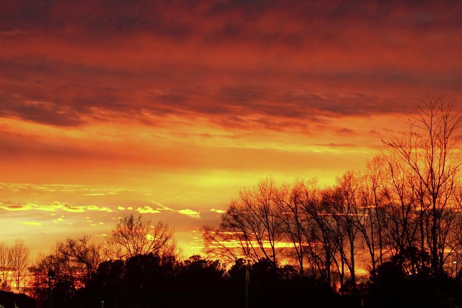 Sunday Evening Sunset by Bob Mullins