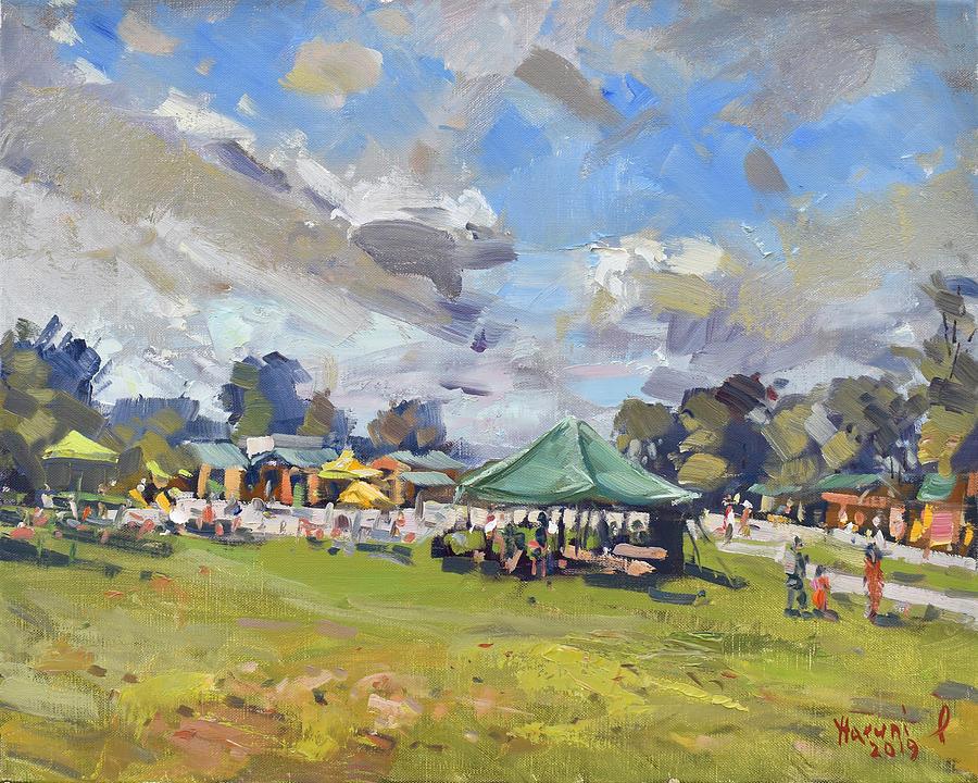 Sunday Market at Sunborn Farm by Ylli Haruni