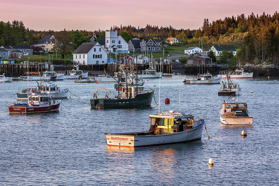 Sundown at Cutler, Maine by Colin Chase