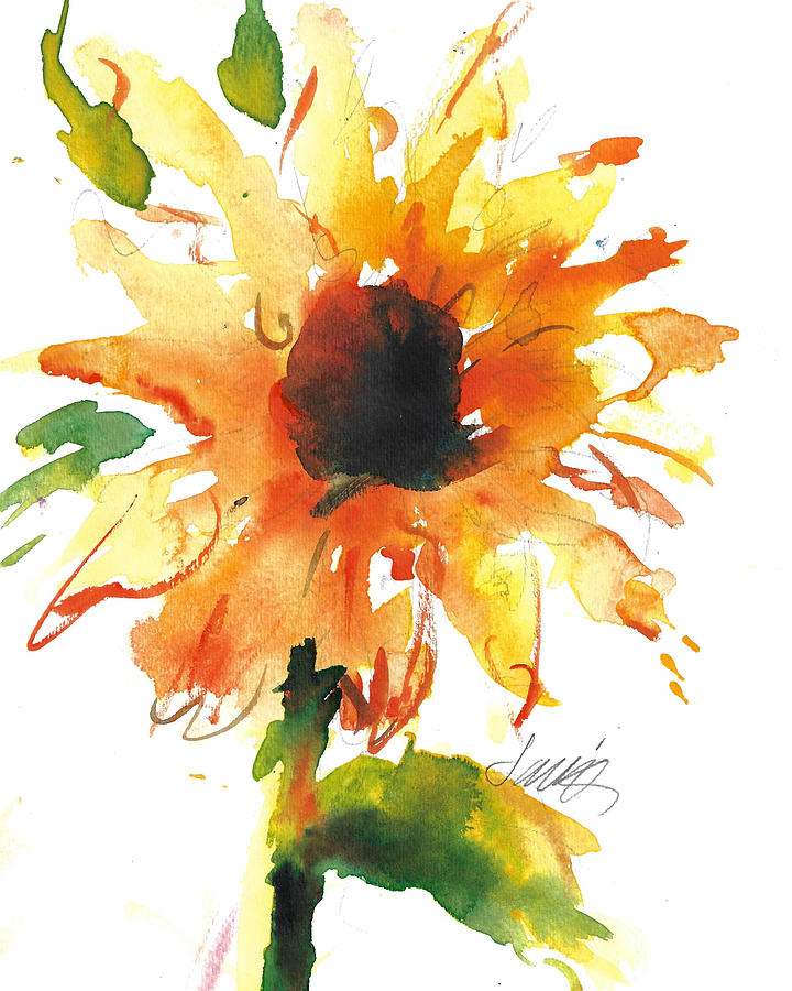 Sunflower Too - A Study by Jacki Kellum