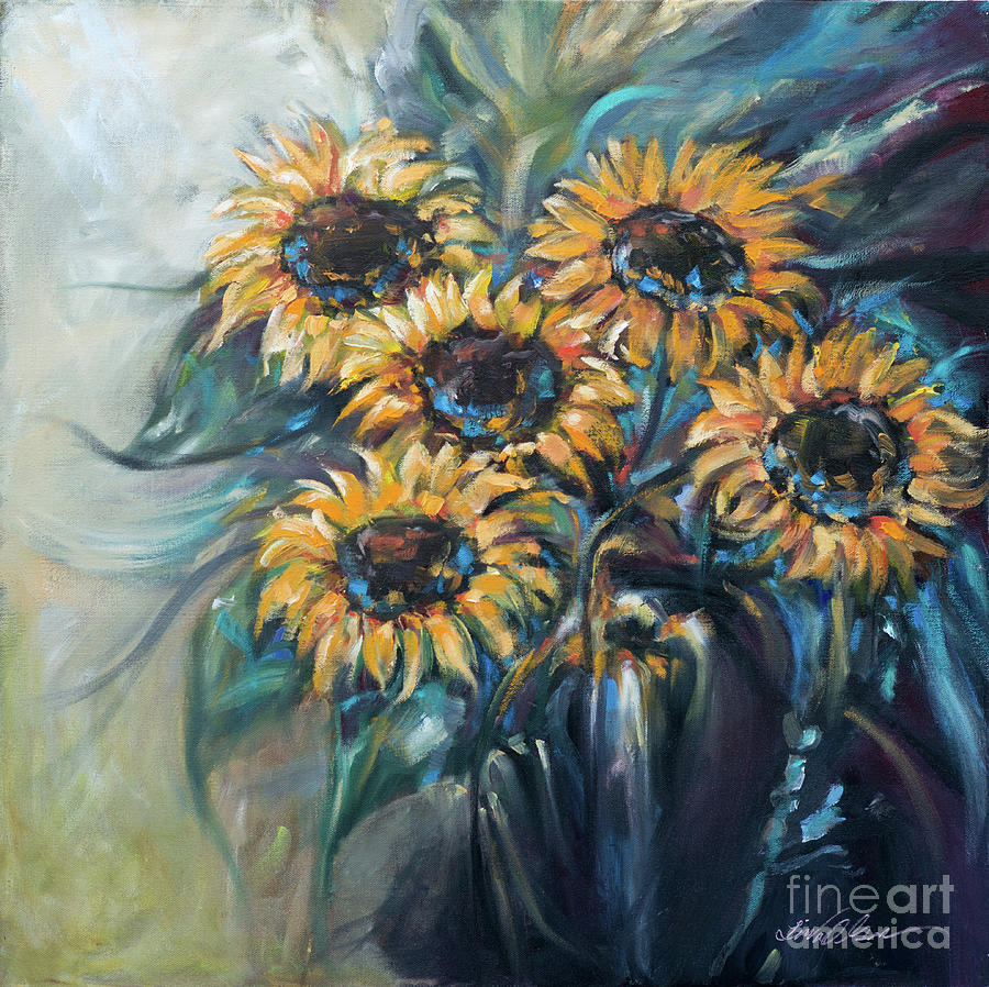 Sunflower Bouquet by Linda Olsen