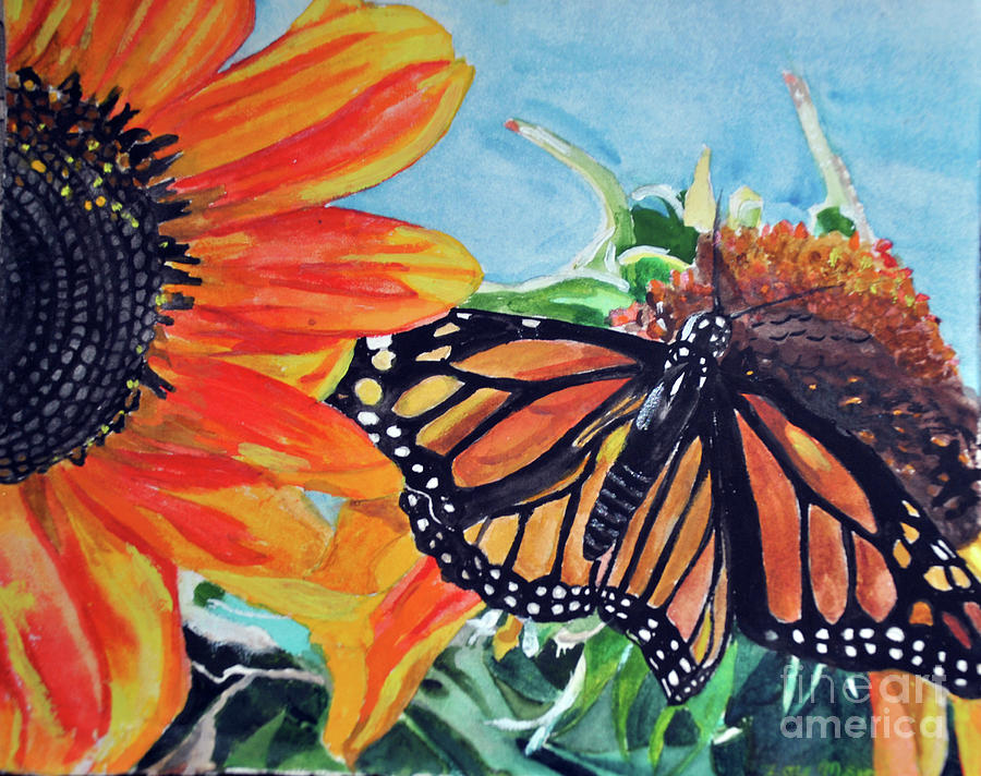 Sunflower Delight by Lori Moon