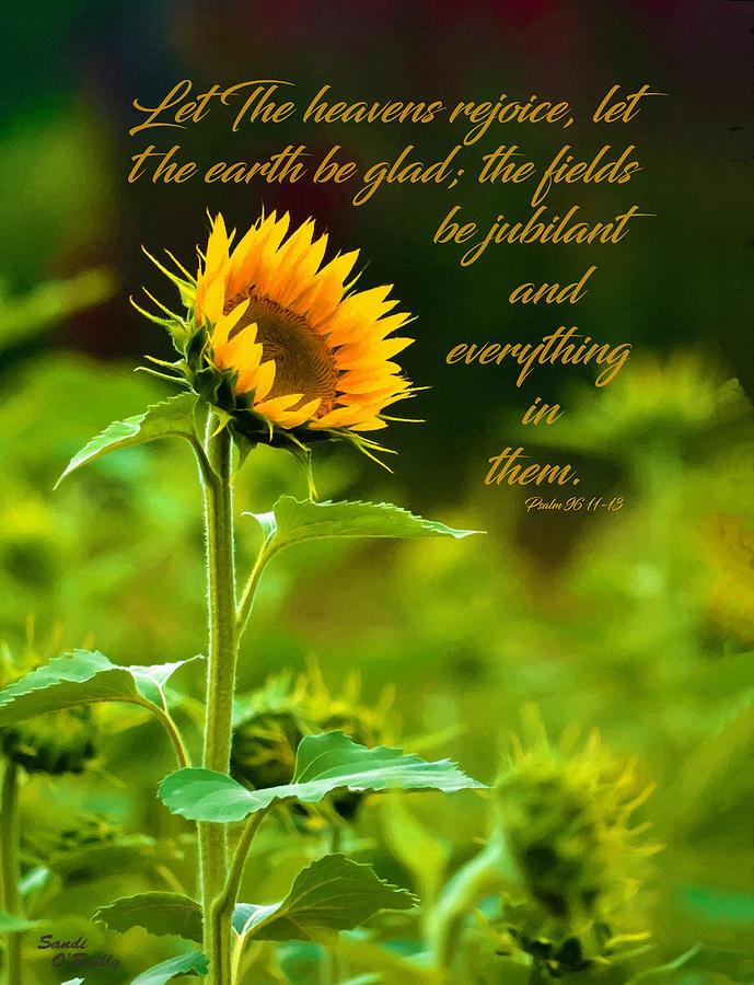 Sunflower Follows The Sun Scrpture by Sandi OReilly