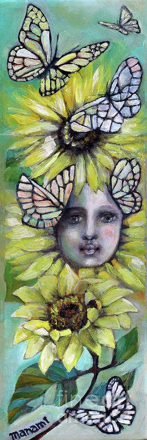 Sunflower Girl by Manami Lingerfelt