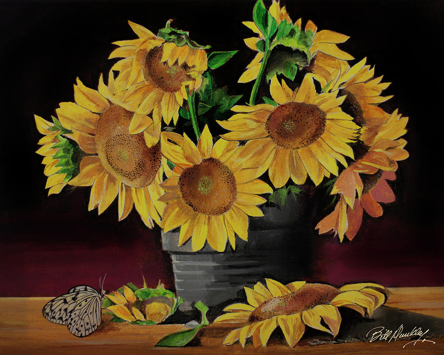Sunflower Setting by Bill Dunkley