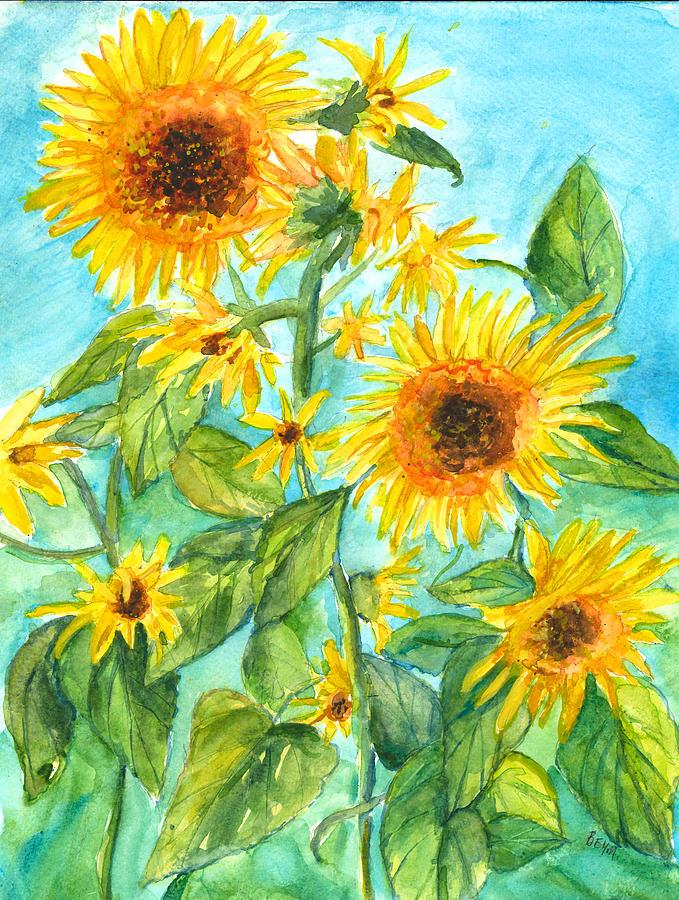 Sunflowers by Clara Sue Beym