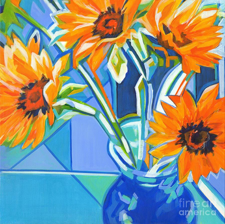 Sunflowers Geometry by Tanya Filichkin