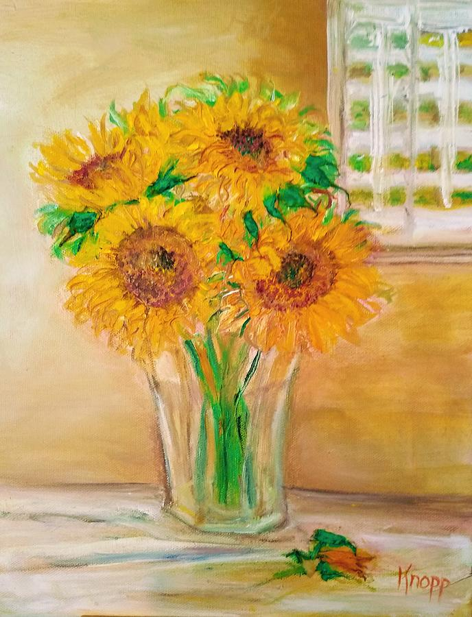 Sunflowers by Kathy Knopp