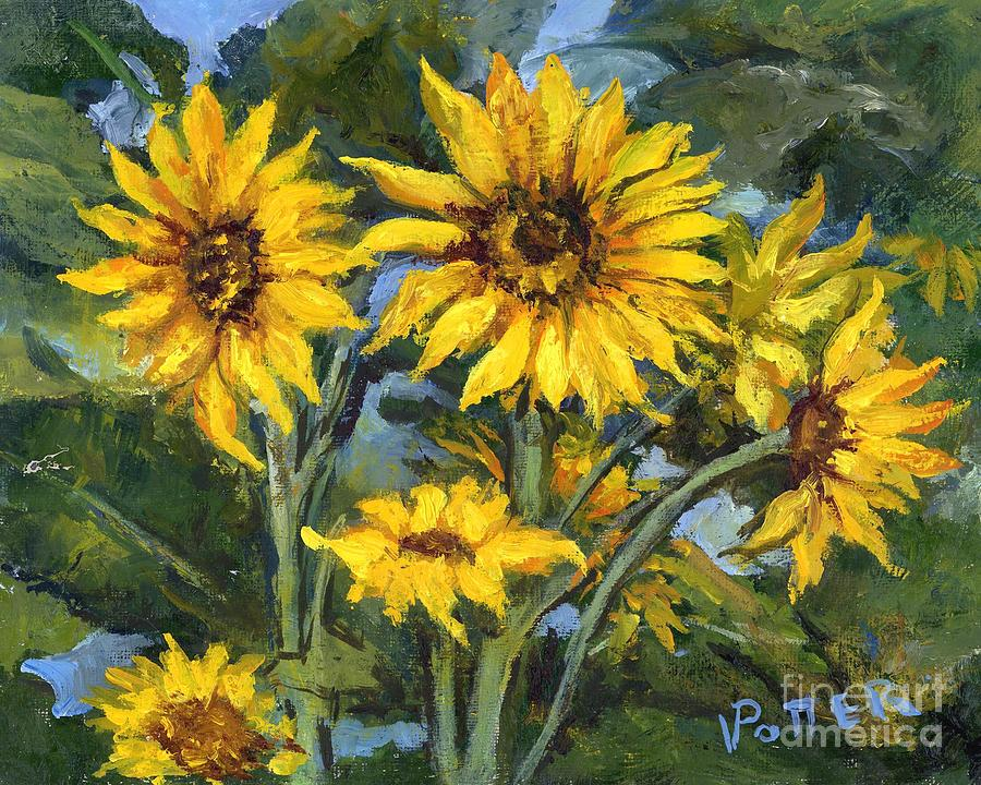 Sunflowers by Virginia Potter