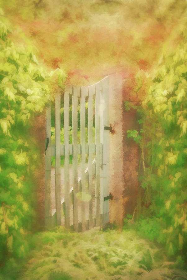 Sunkissed Garden Gate by Marilyn Wilson