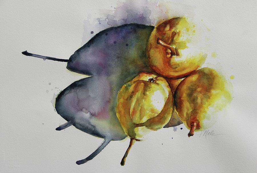 Sunkissed Pears by Tracy Male