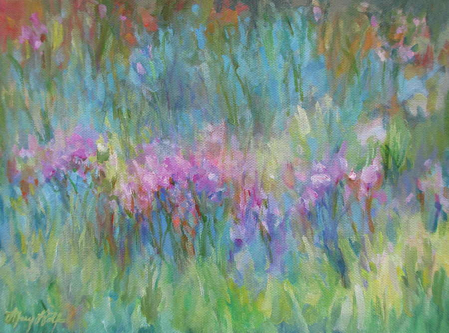 Sunlight Dancing in the Meadow by Mary Wolf