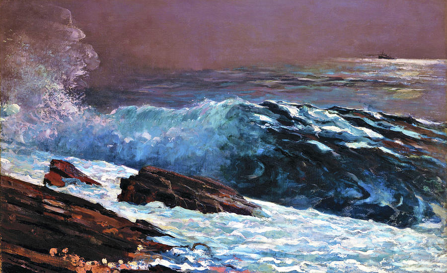 Winslow Homer Painting - Sunlight On The Coast - Digital Remastered Edition by Winslow Homer