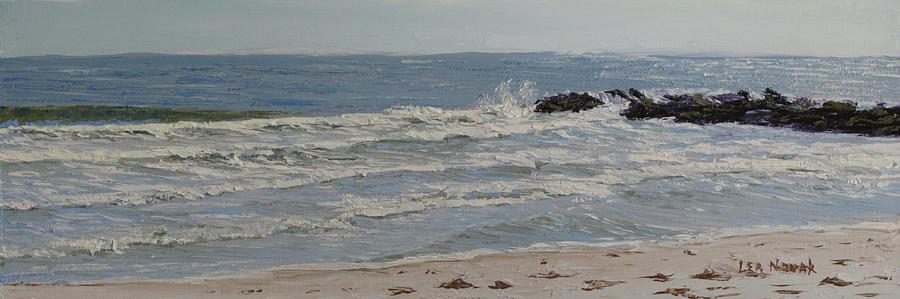 Sunlight on the Waves by Lea Novak