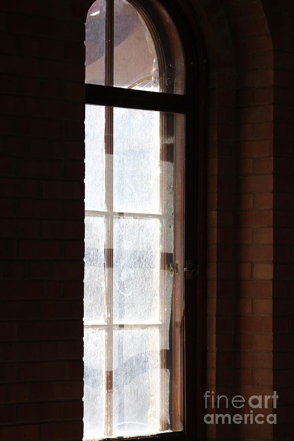 Sunlight Through Window of Old Church Fort Sanders New Mexico by Colleen Cornelius