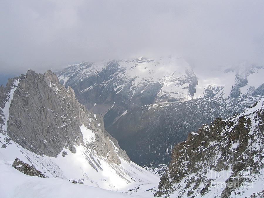 Sunlit Alps by Ann Horn