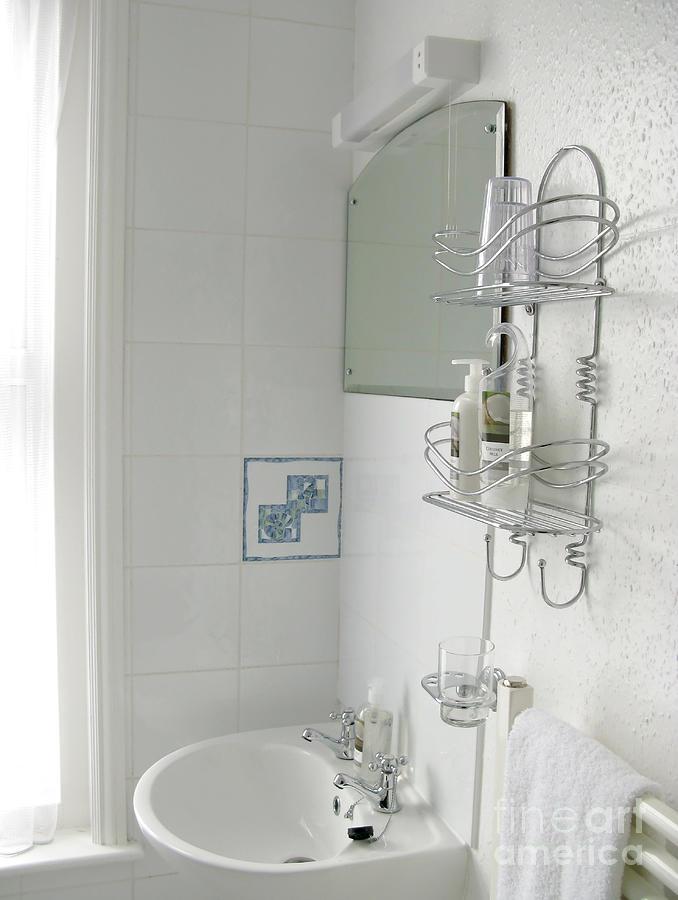 Sunlit Bathroom Sink by Ann Horn